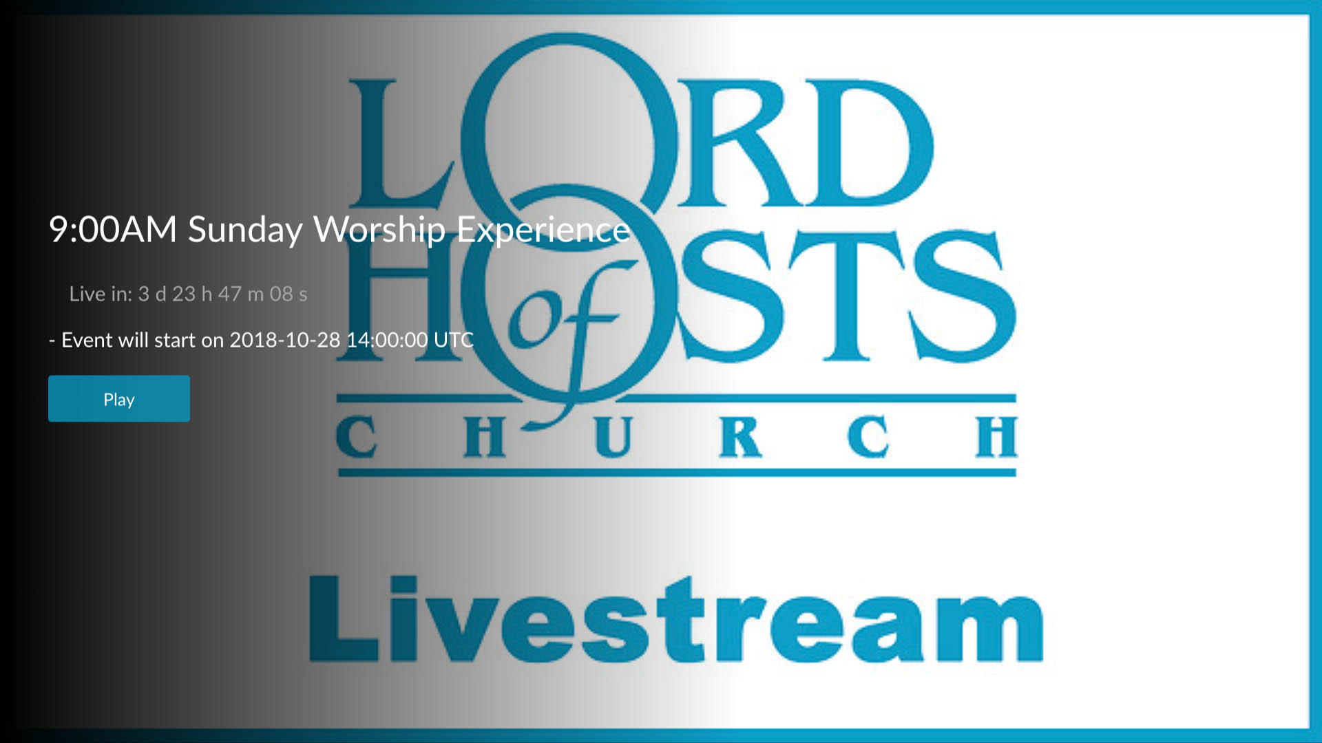 Lord of Hosts Church - Fire TV App | Lightcast com