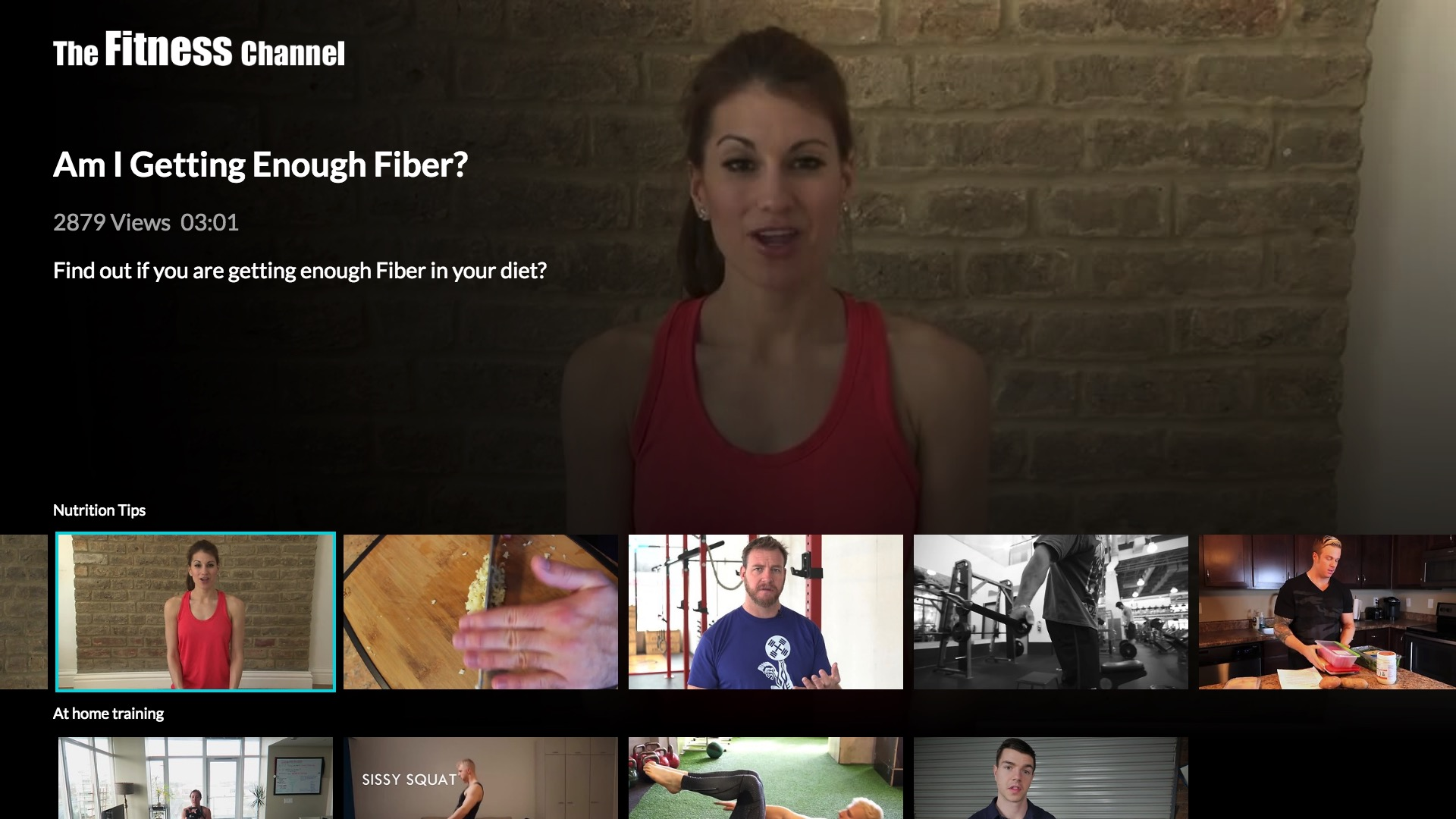 The Fitness Channel  Screenshot 002