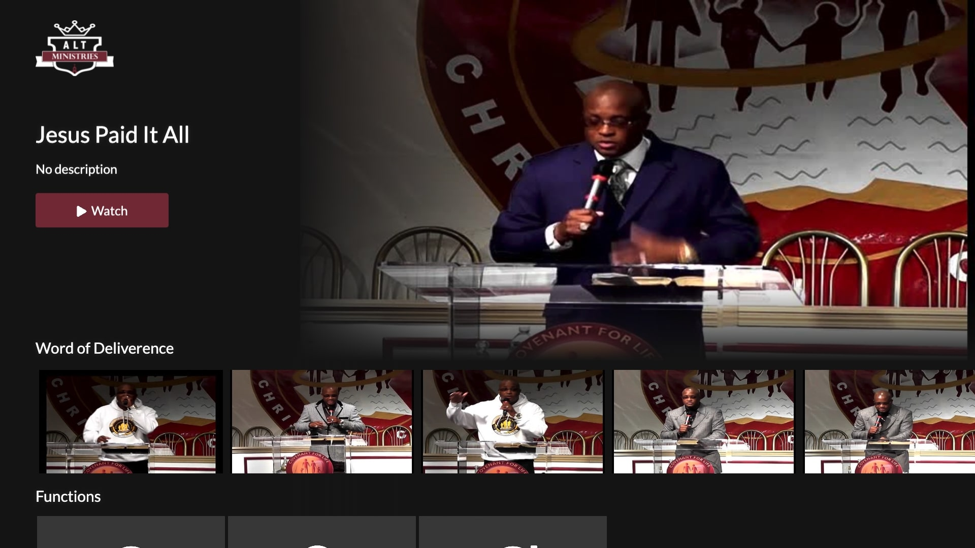 Dr. Anthony Trice TV Screenshot 001