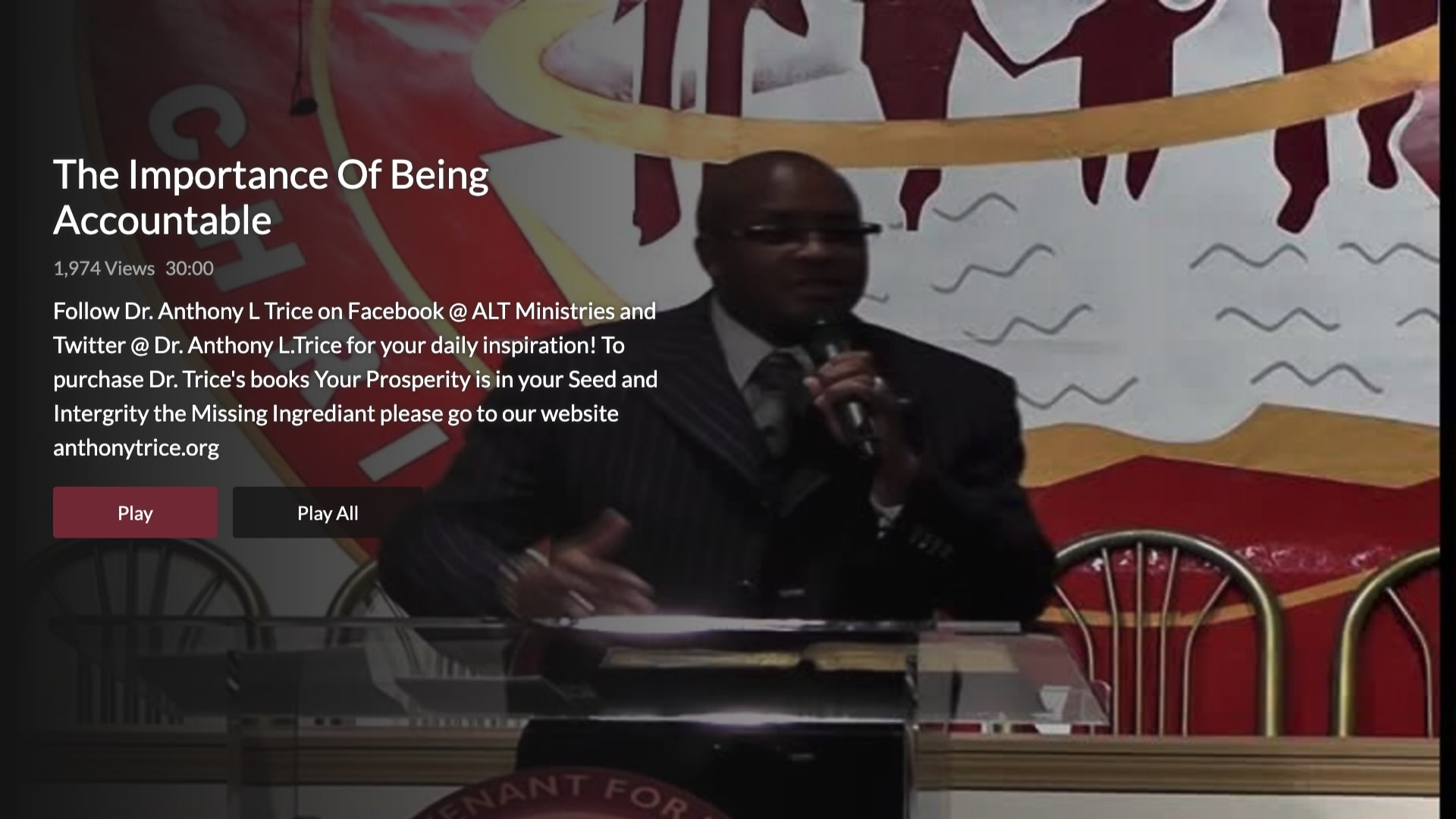 Dr. Anthony Trice TV Screenshot 003