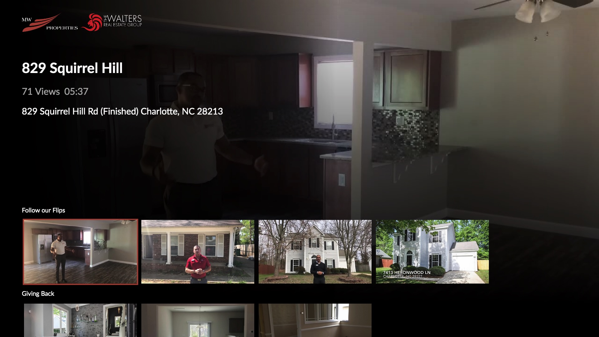 The Walters Real Estate Group Screenshot 002