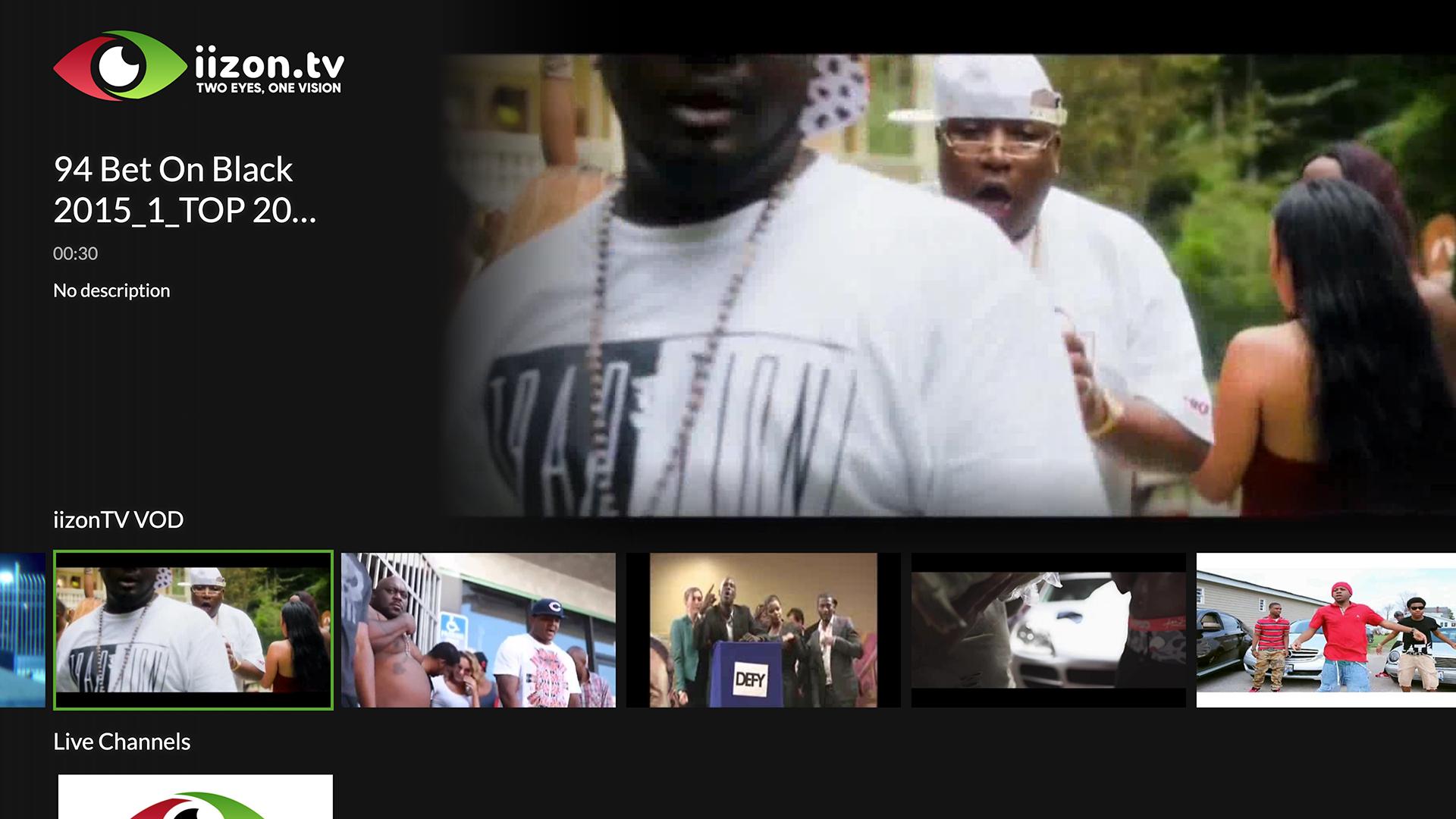 Modo TV - Fire TV App   Lightcast com