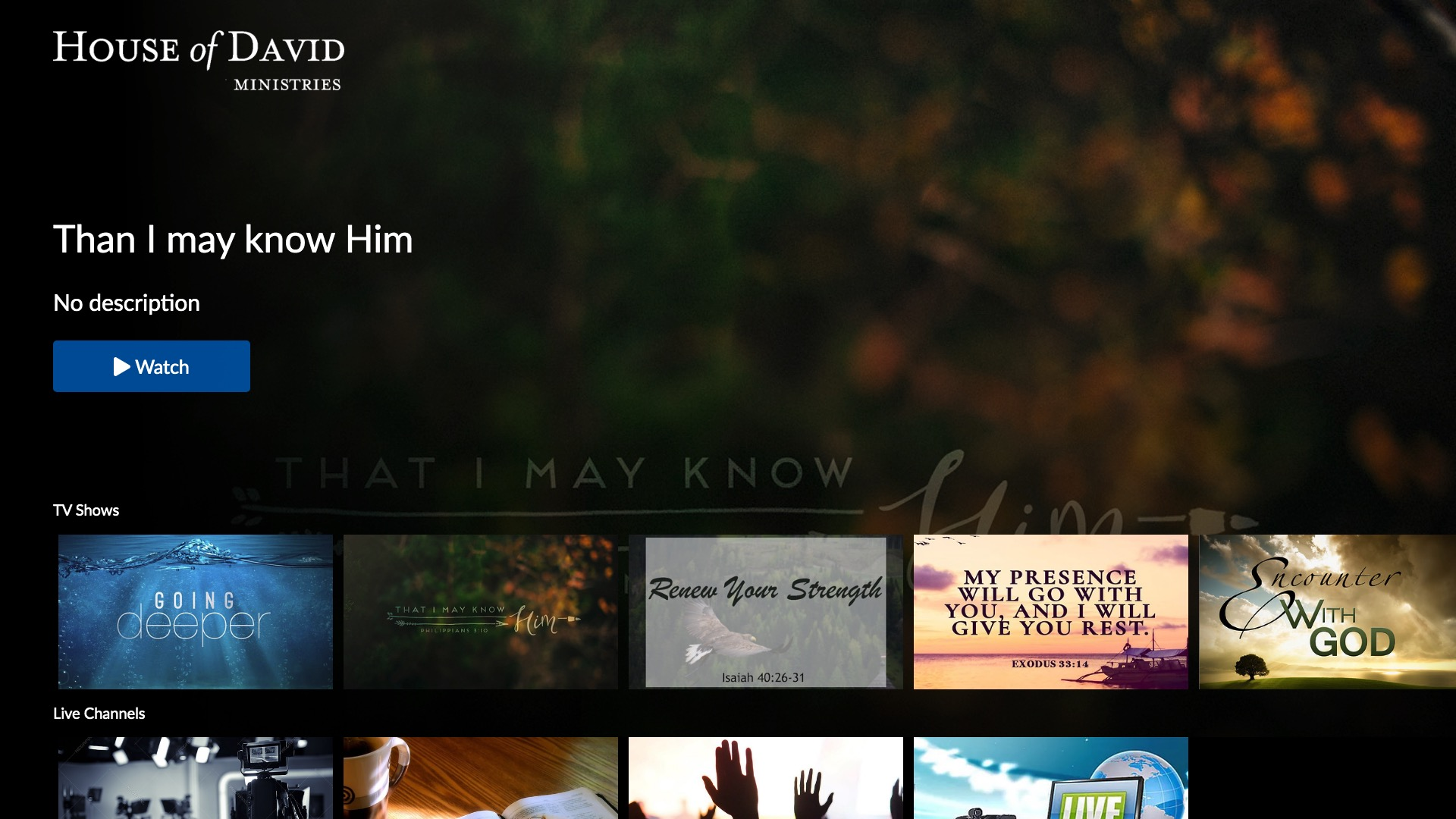 House of David Ministries Screenshot 001