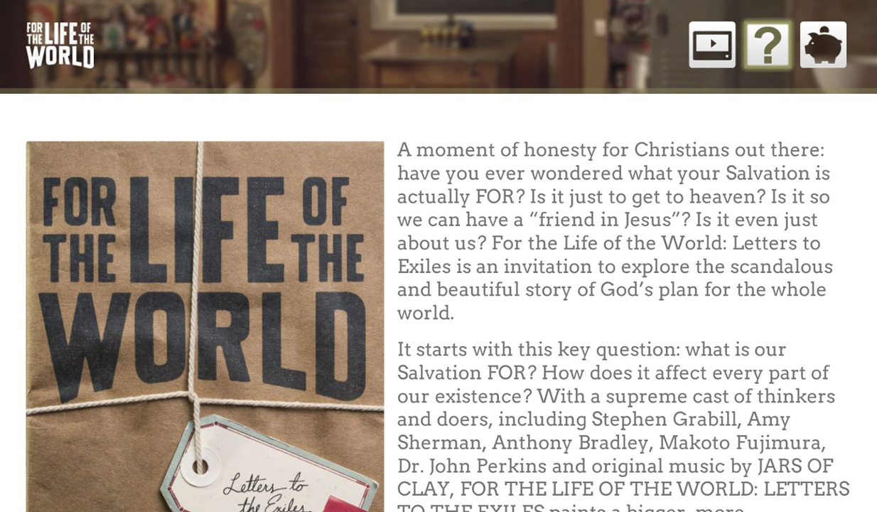 For the Life of the World Screenshot 003