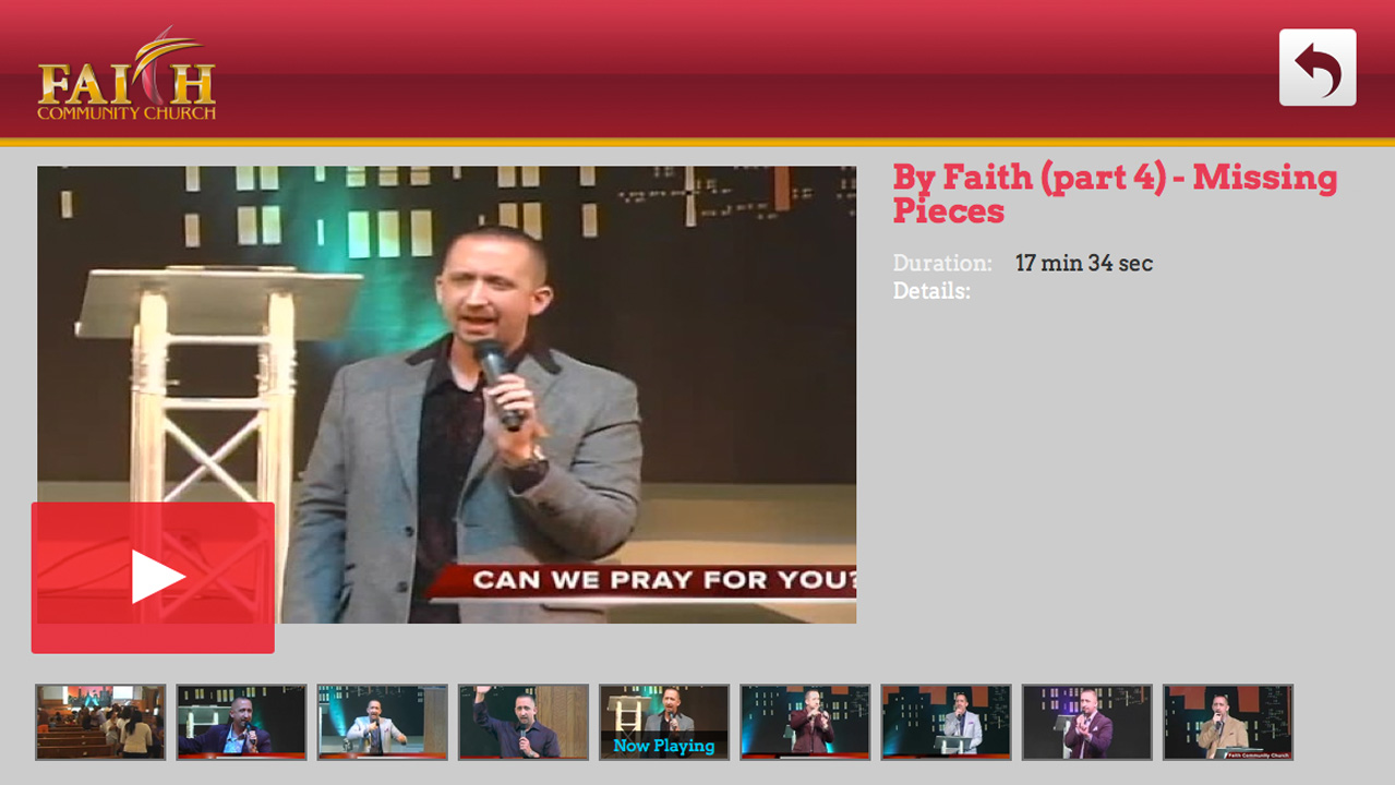 Faith Community Church Screenshot 002