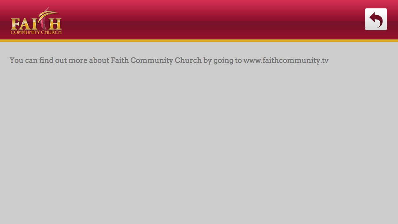 Faith Community Church Screenshot 003