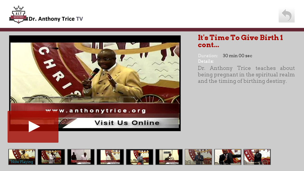 Dr. Anthony Trice TV Screenshot 002