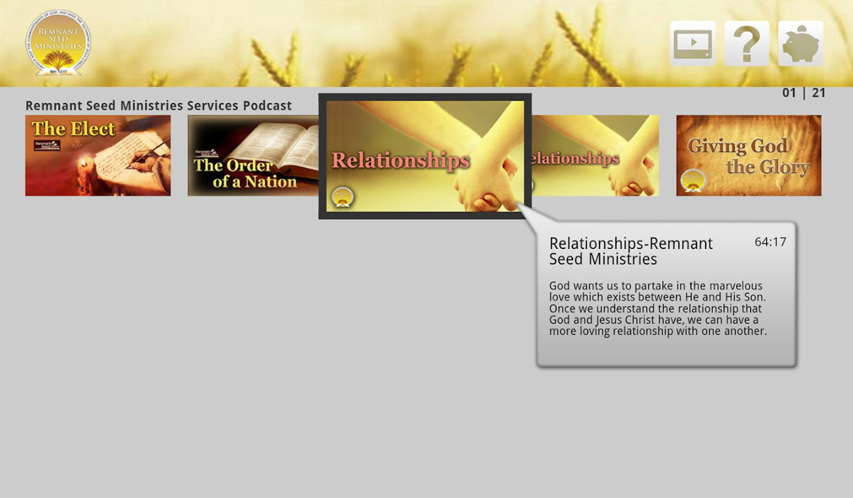 Remnant Seed Ministries Screenshot 001