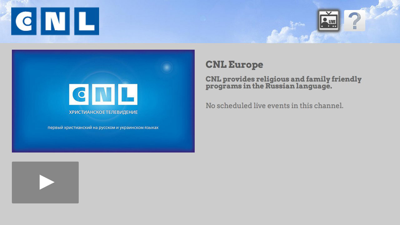 CNL - Russian Christian TV Screenshot 001