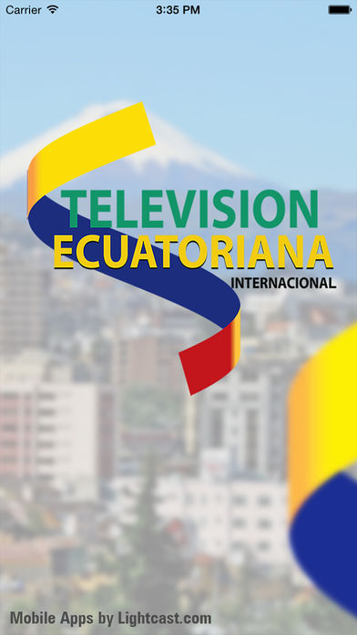 Television Ecuatoriana iOS Screenshot 001