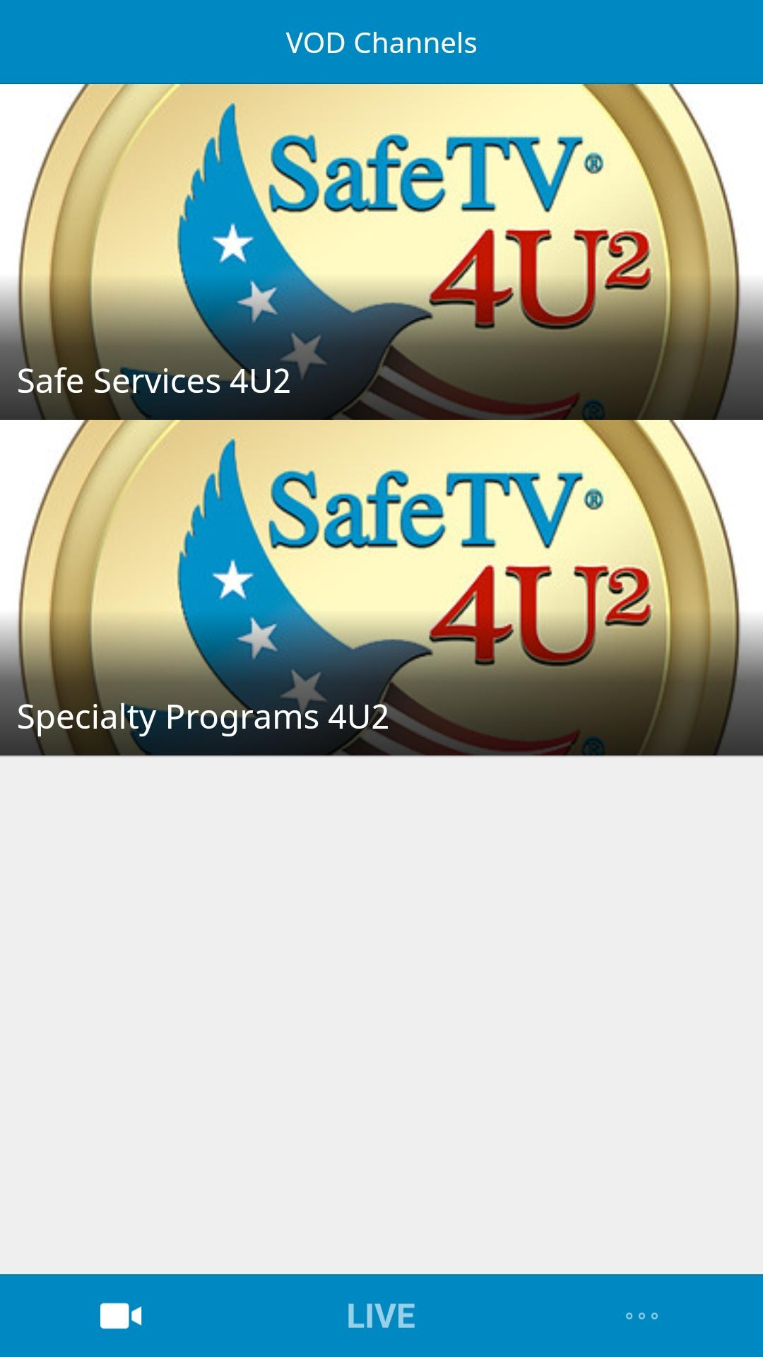 SafeTV4U2 Screenshot 001