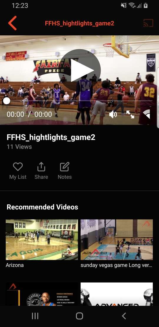 Advanced Scouting Media  Screenshot 003