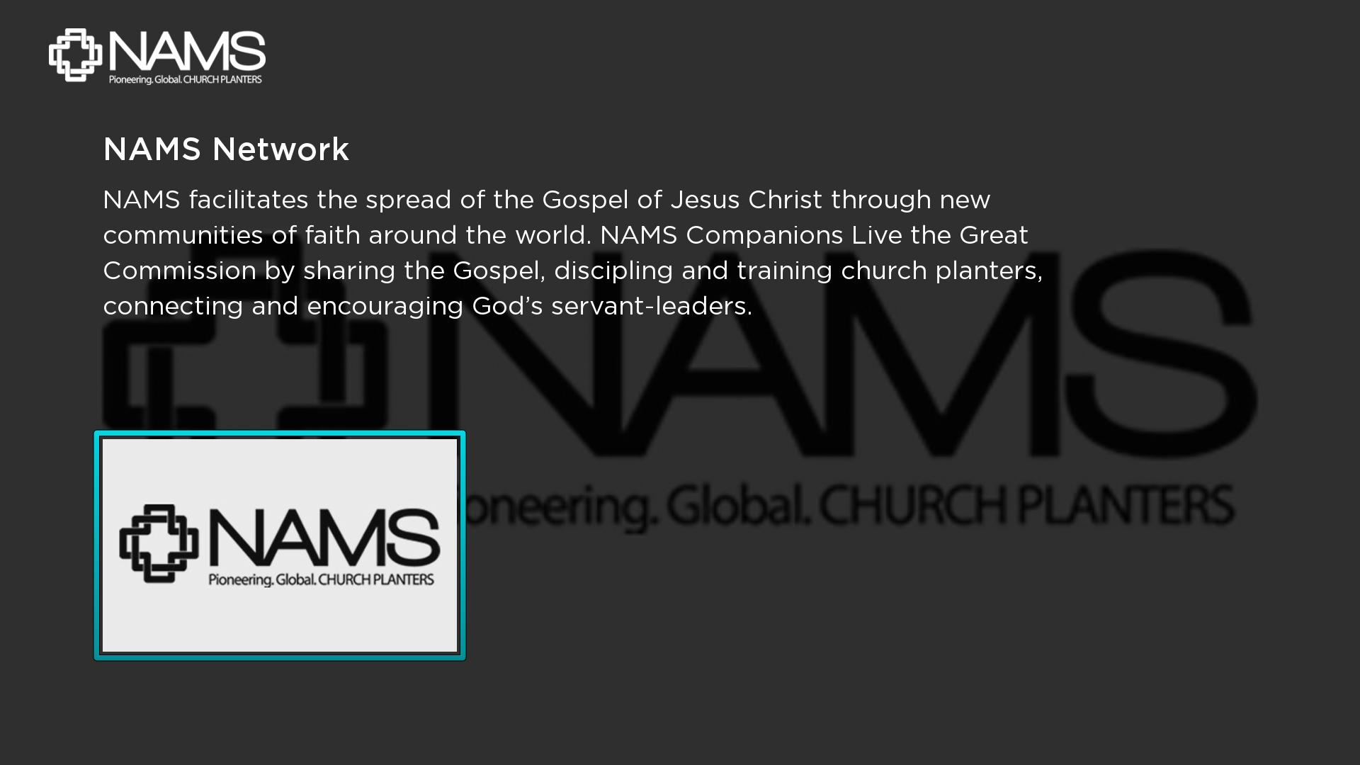 NAMS Network Screenshot 001