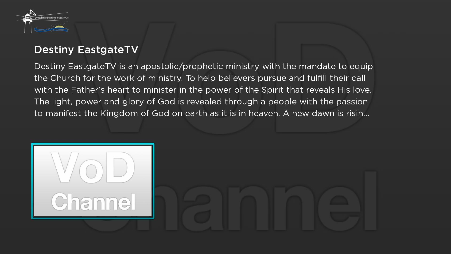 Prophetic Destiny TV Screenshot 001