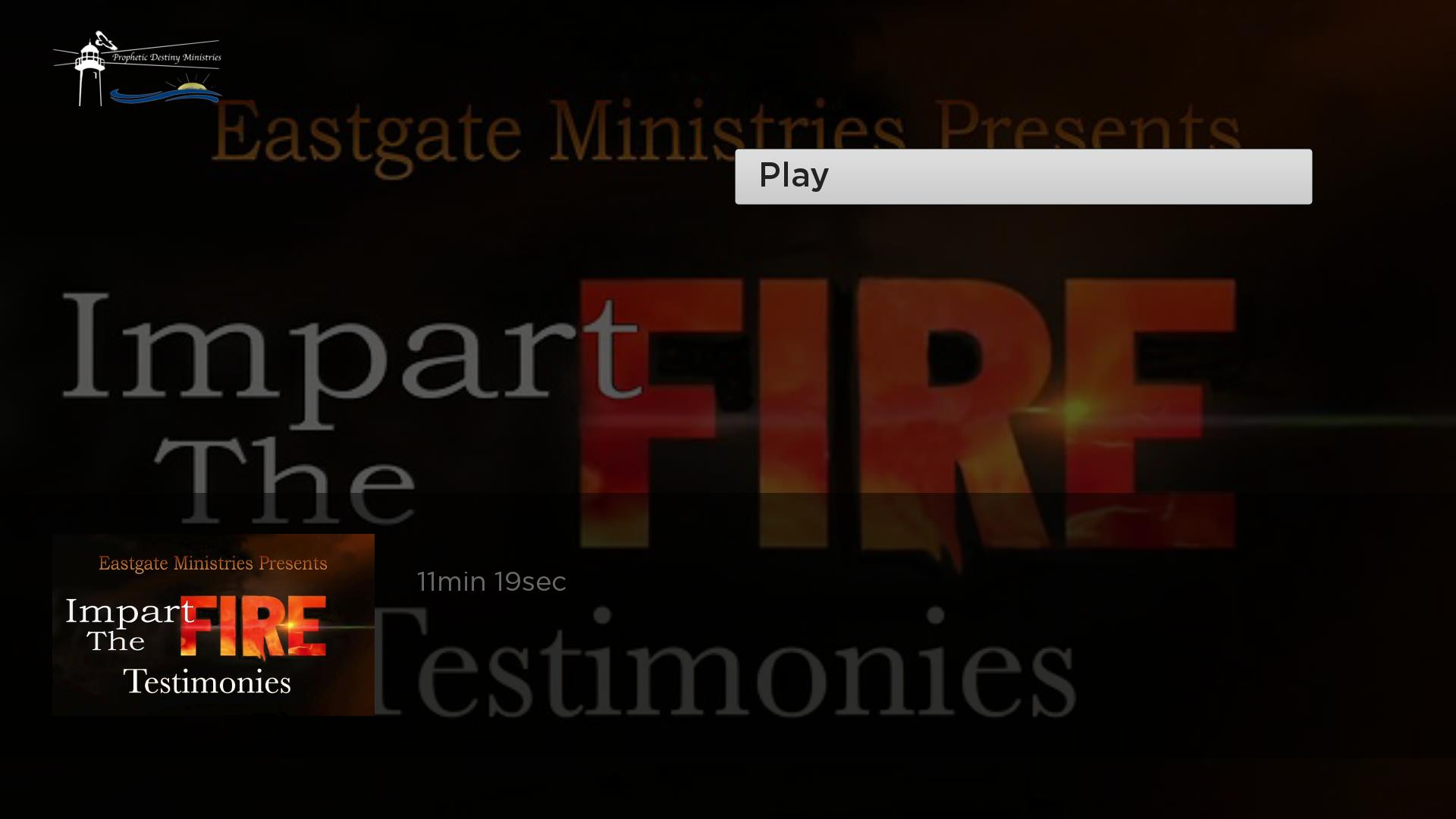 Prophetic Destiny TV Screenshot 003