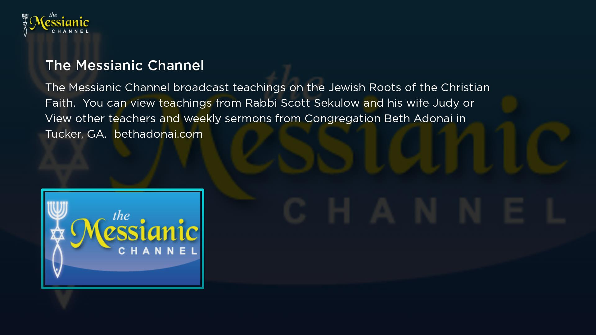 The Messianic Channel Screenshot 001