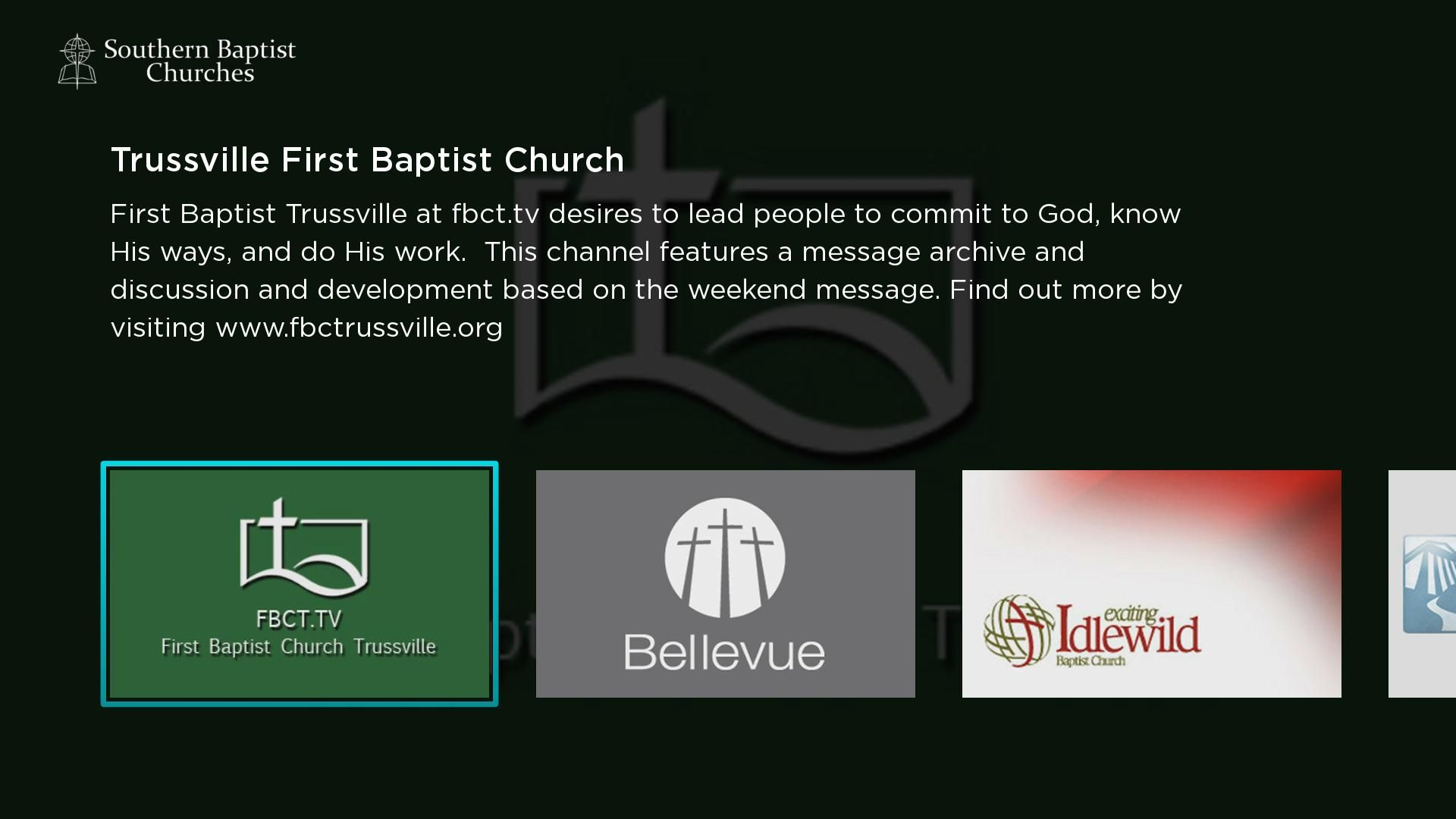 Southern Baptist Churches Screenshot 001