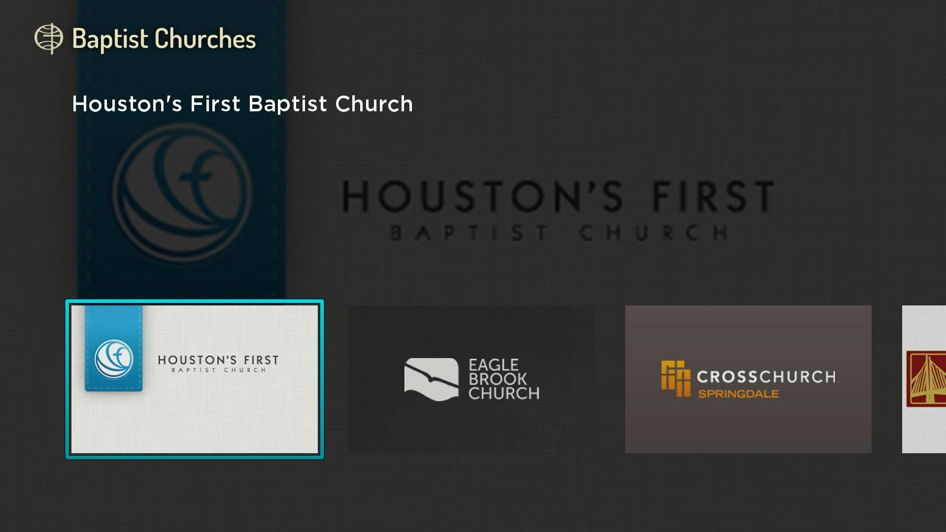 Baptist Churches Screenshot 001