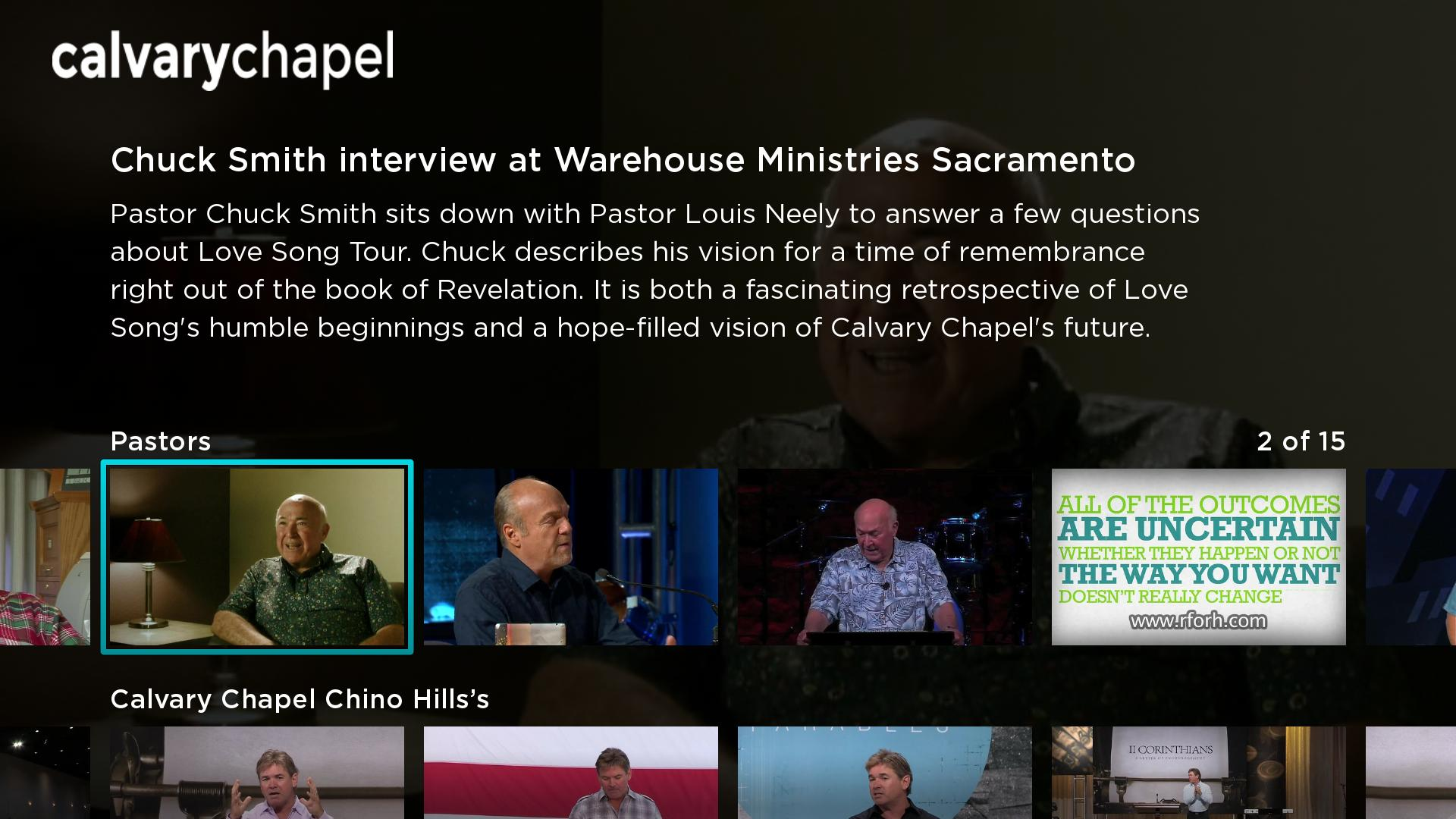 Calvary Chapel Screenshot 002