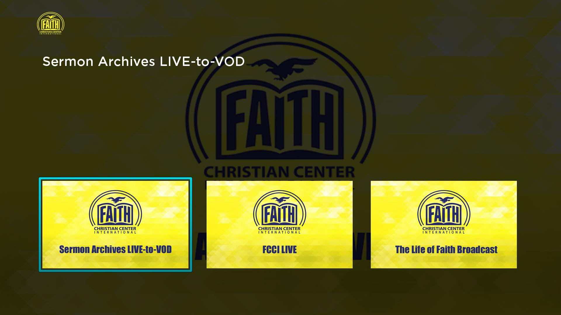 The Life of Faith Broadcast Screenshot 001