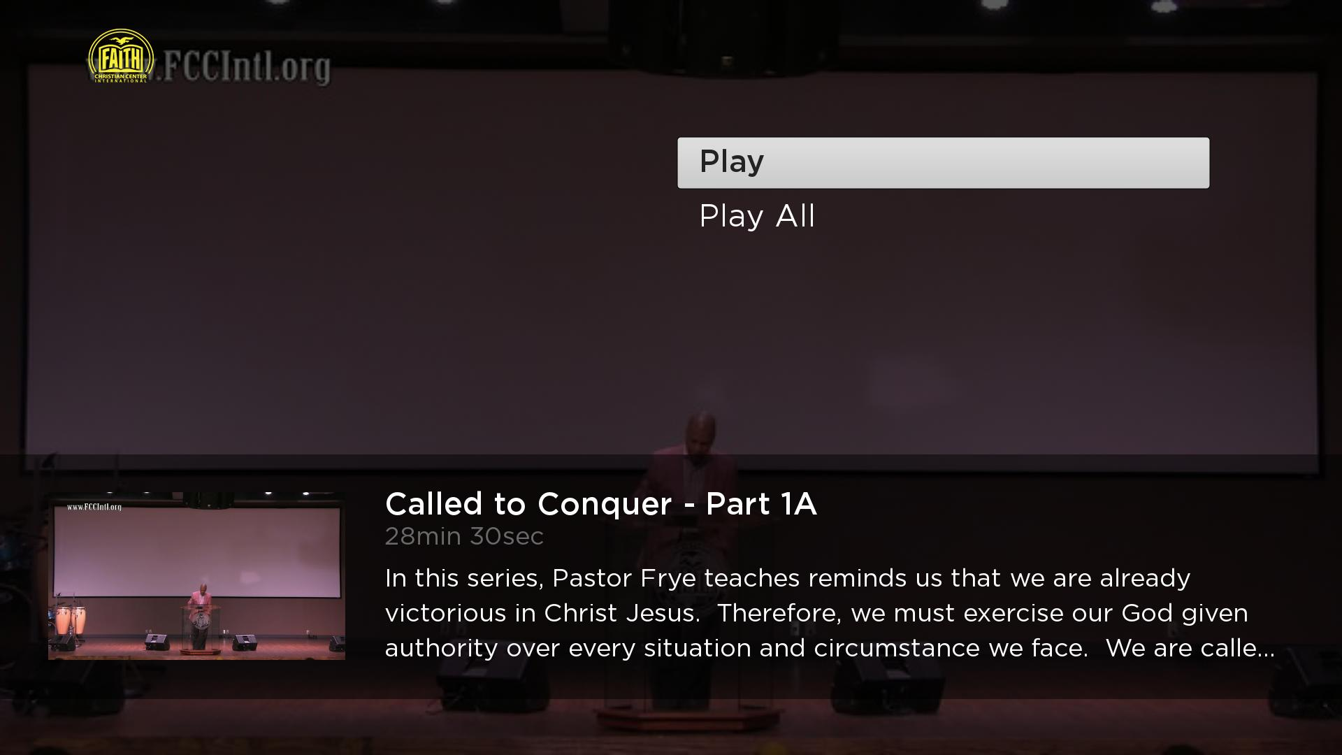 The Life of Faith Broadcast Screenshot 003
