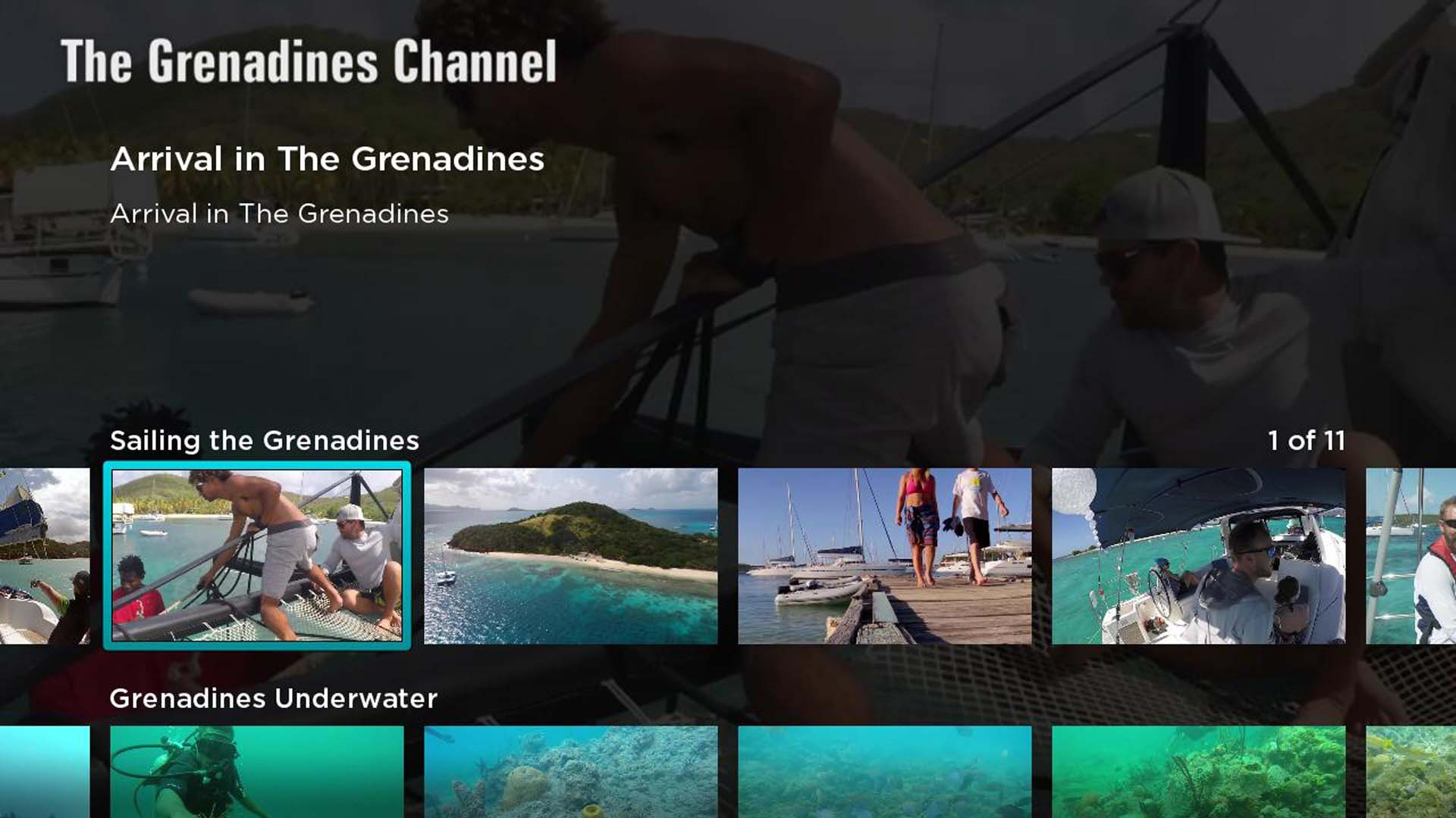 The Grenadines Channel Screenshot 001
