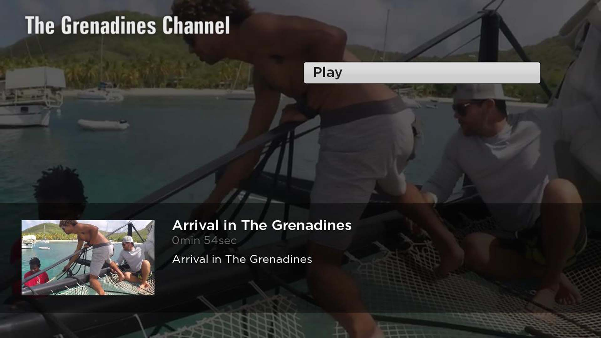 The Grenadines Channel Screenshot 002