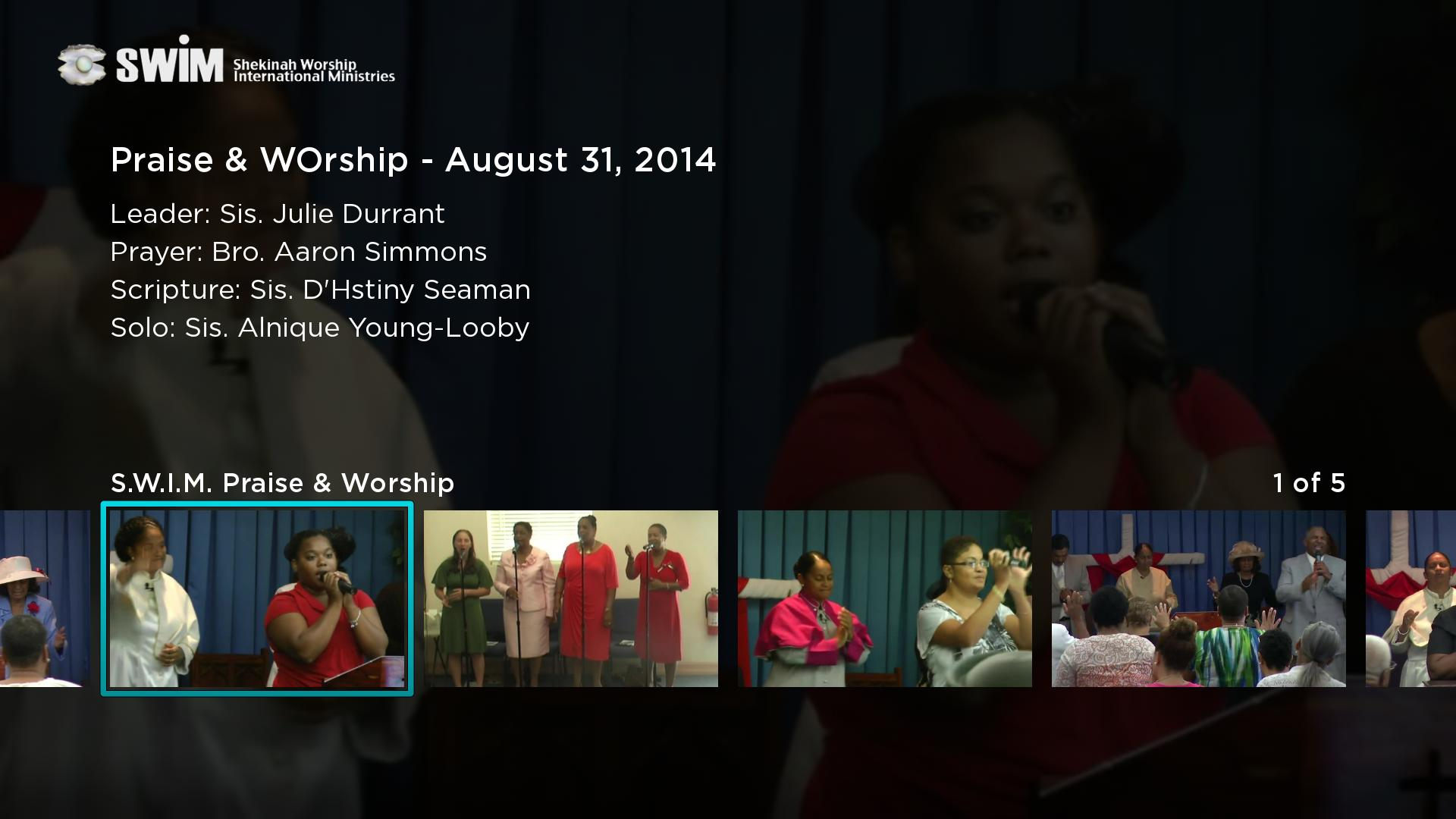 Shekinah Worship Centre Screenshot 002