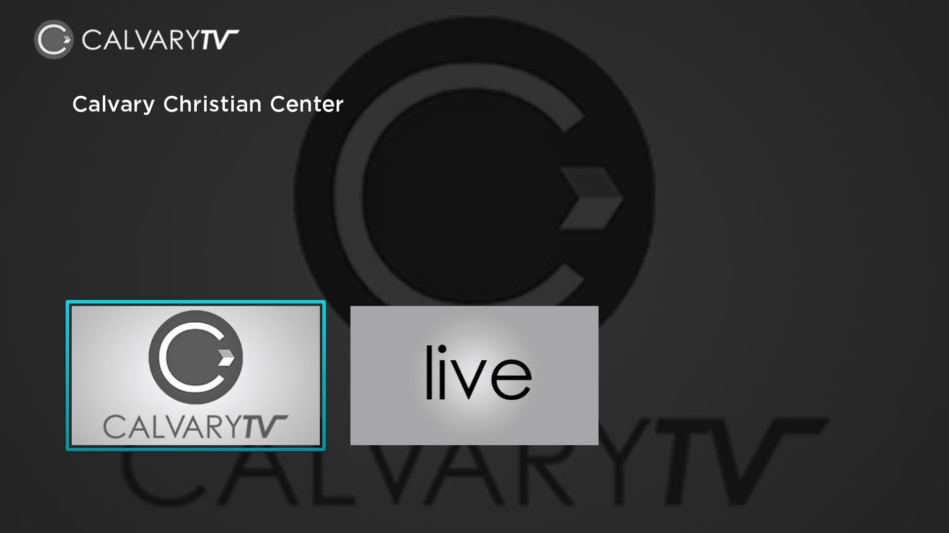 CalvaryTV Screenshot 001