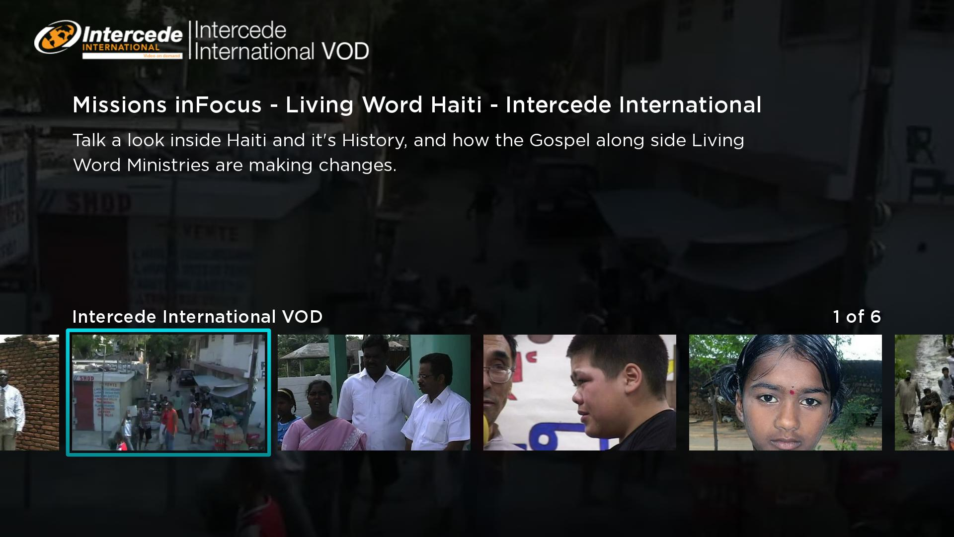 Intercede International Screenshot 002