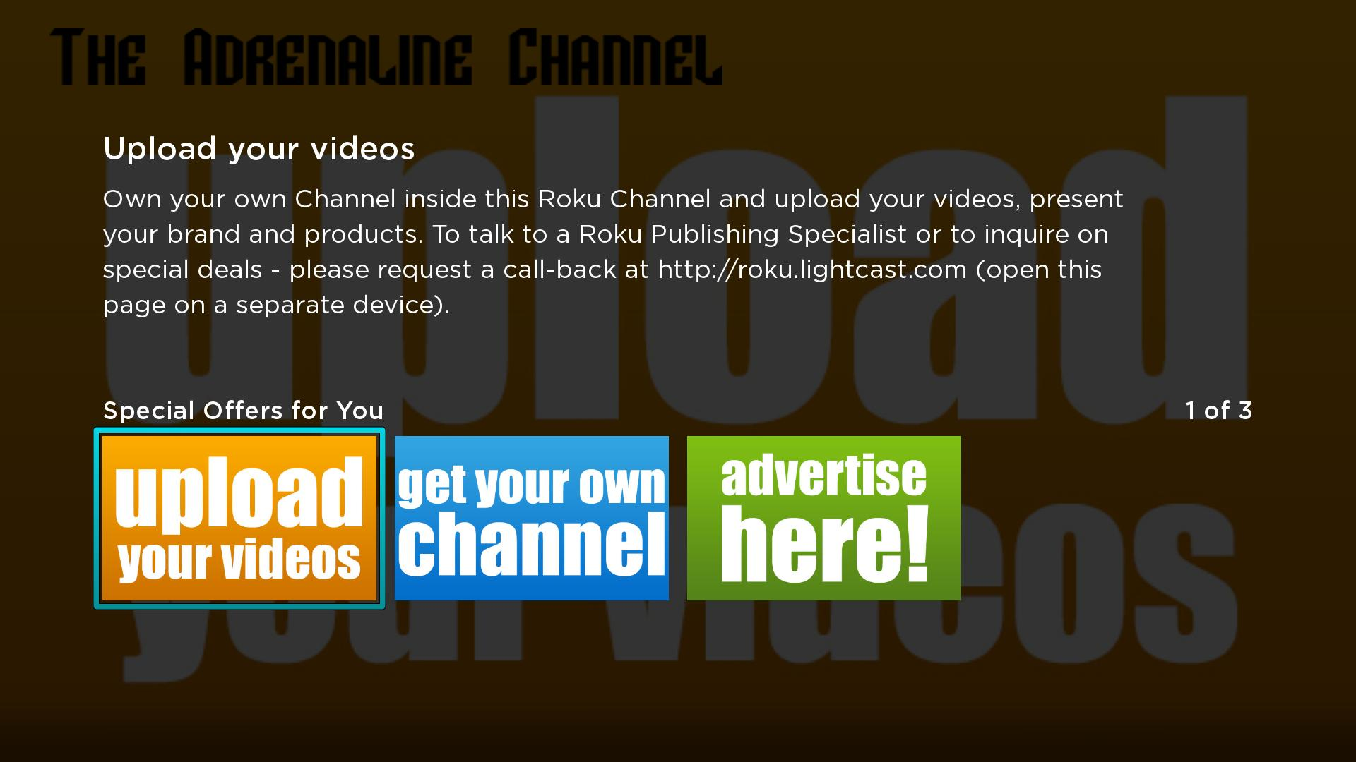 The Adrenaline Channel Screenshot 003