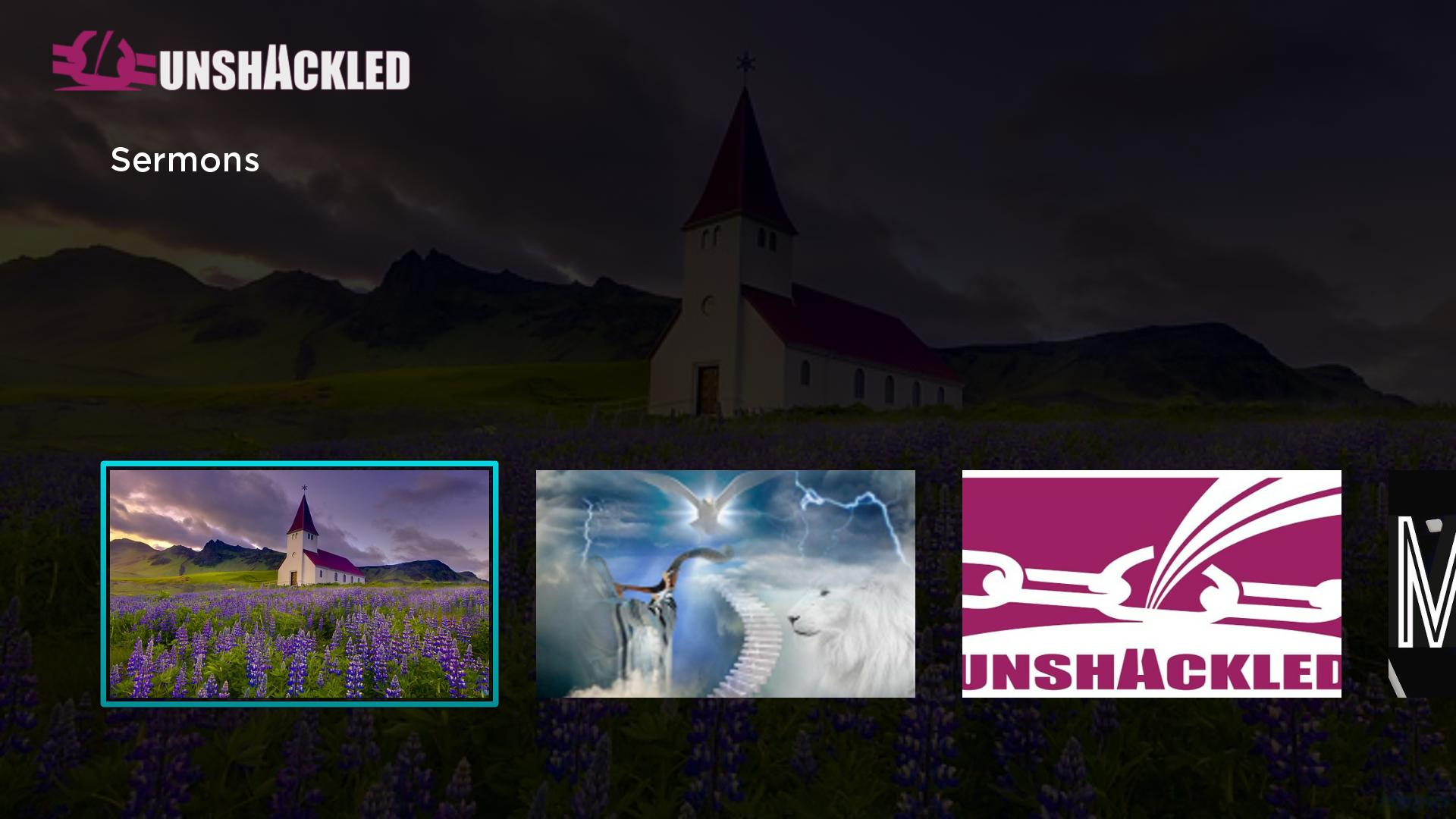 Unshackled TV Screenshot 001