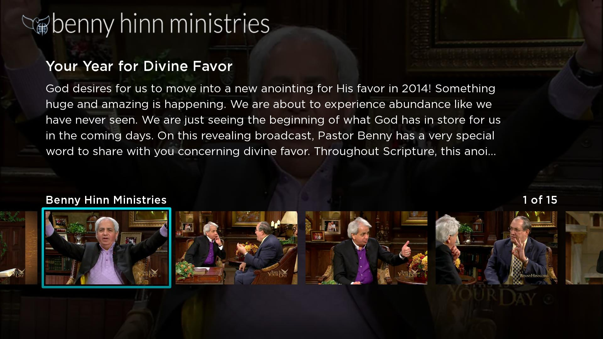 Benny Hinn Screenshot 002