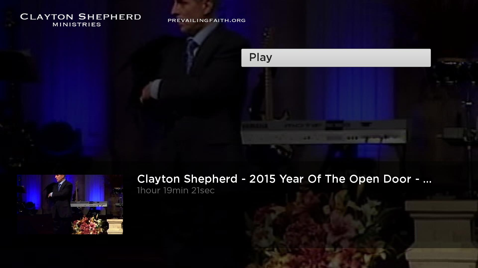 Clayton Shepherd Ministries Screenshot 003