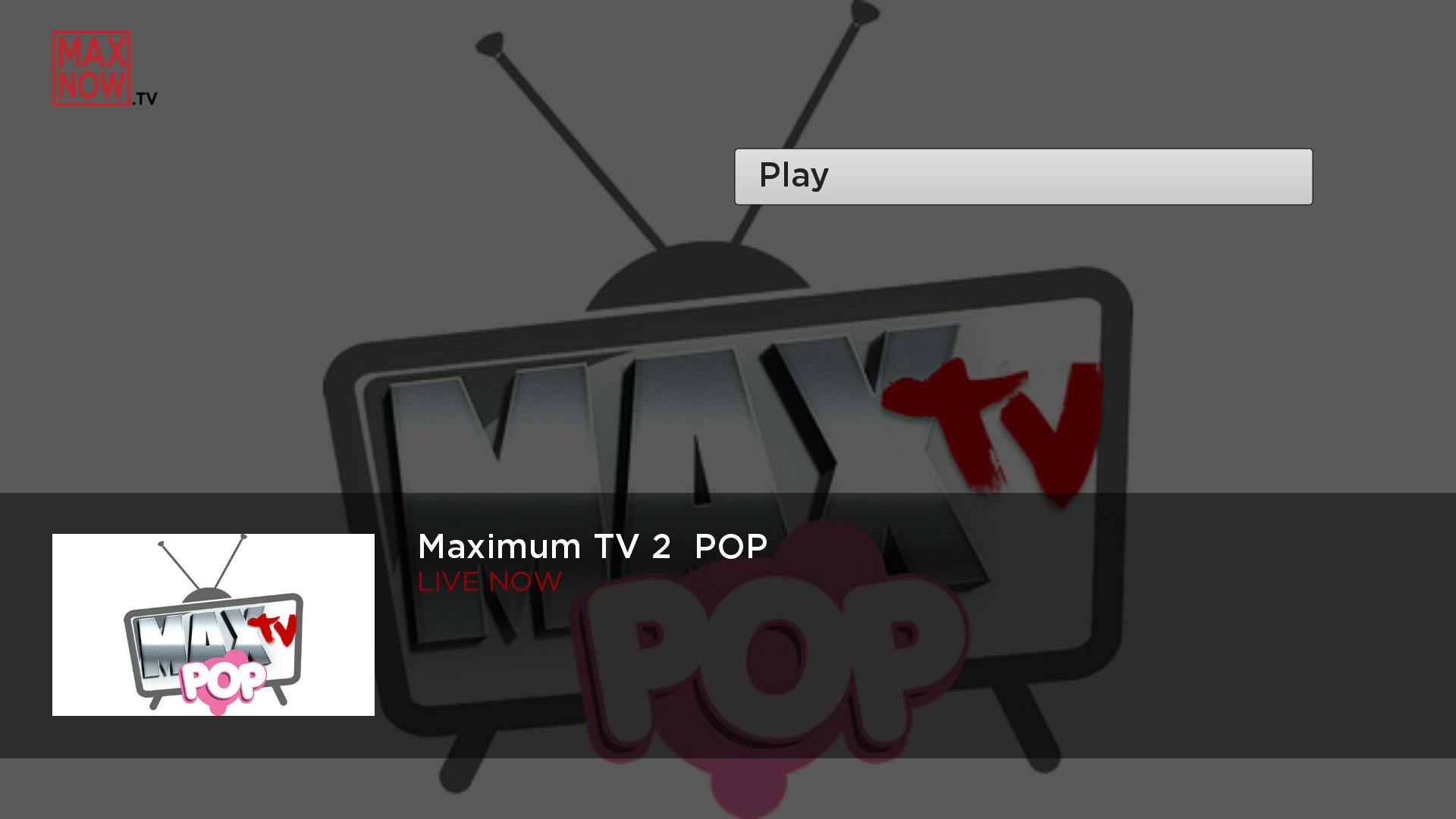 MaxNow.TV Screenshot 002