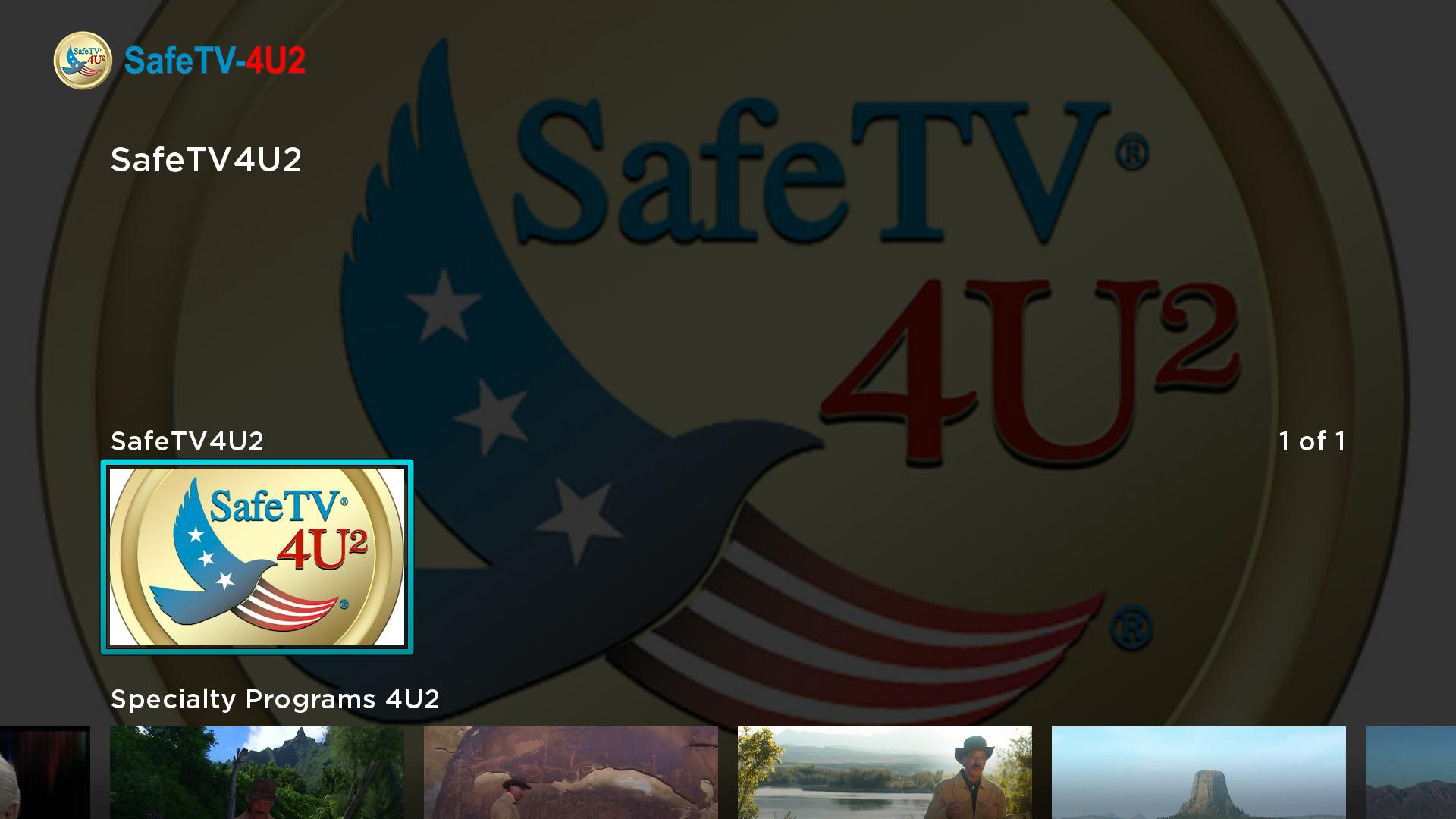 SafeTV4U2 Screenshot 002