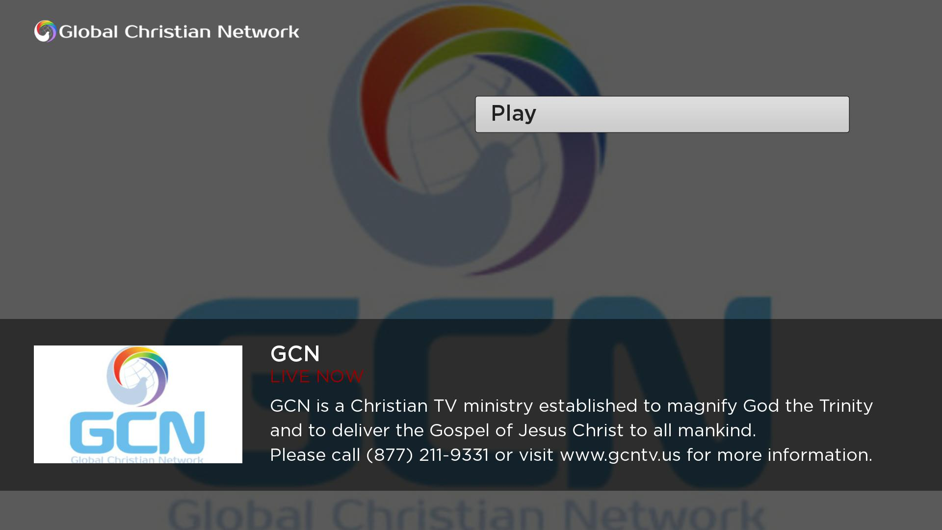Global Christian Network (GCN) Screenshot 002