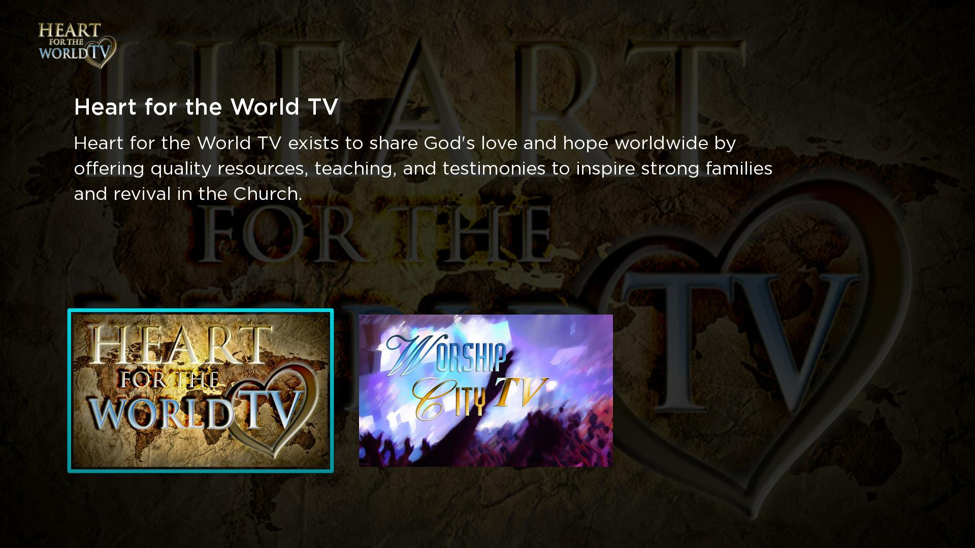 Heart for the World TV Screenshot 001