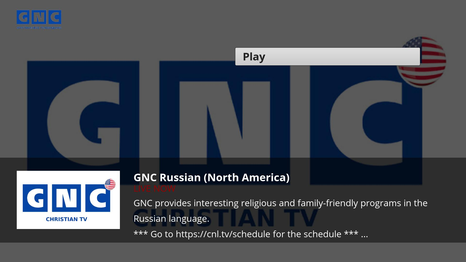 CNL - Russian Christian TV Screenshot 002