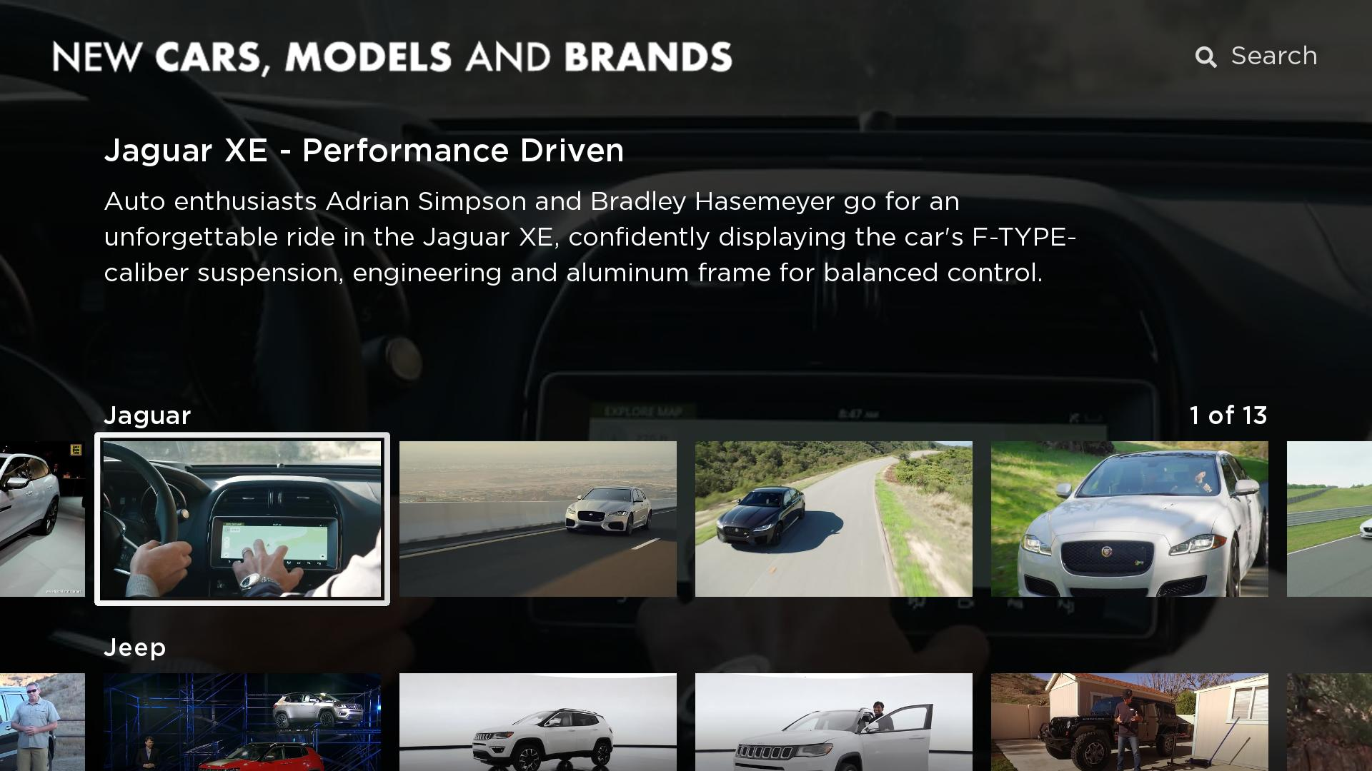 New Cars, Models and Brands Screenshot 002