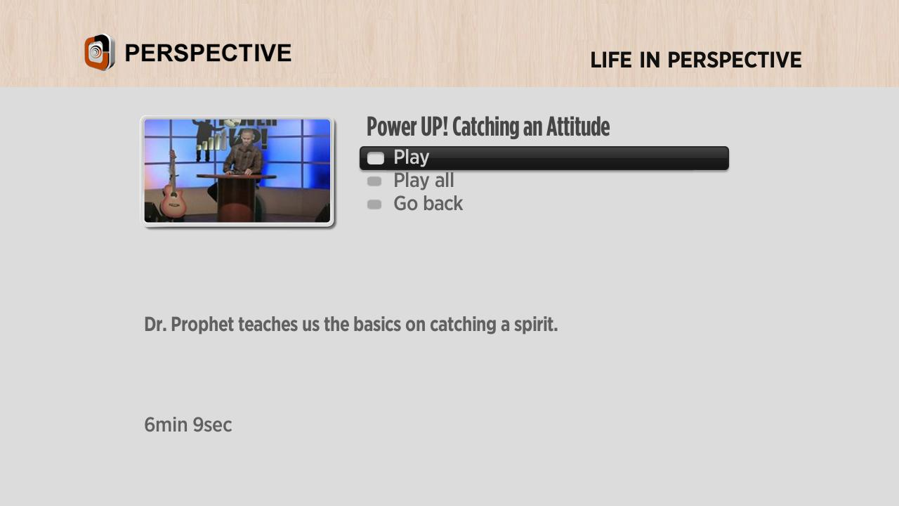 Perspective Television Network Screenshot 002