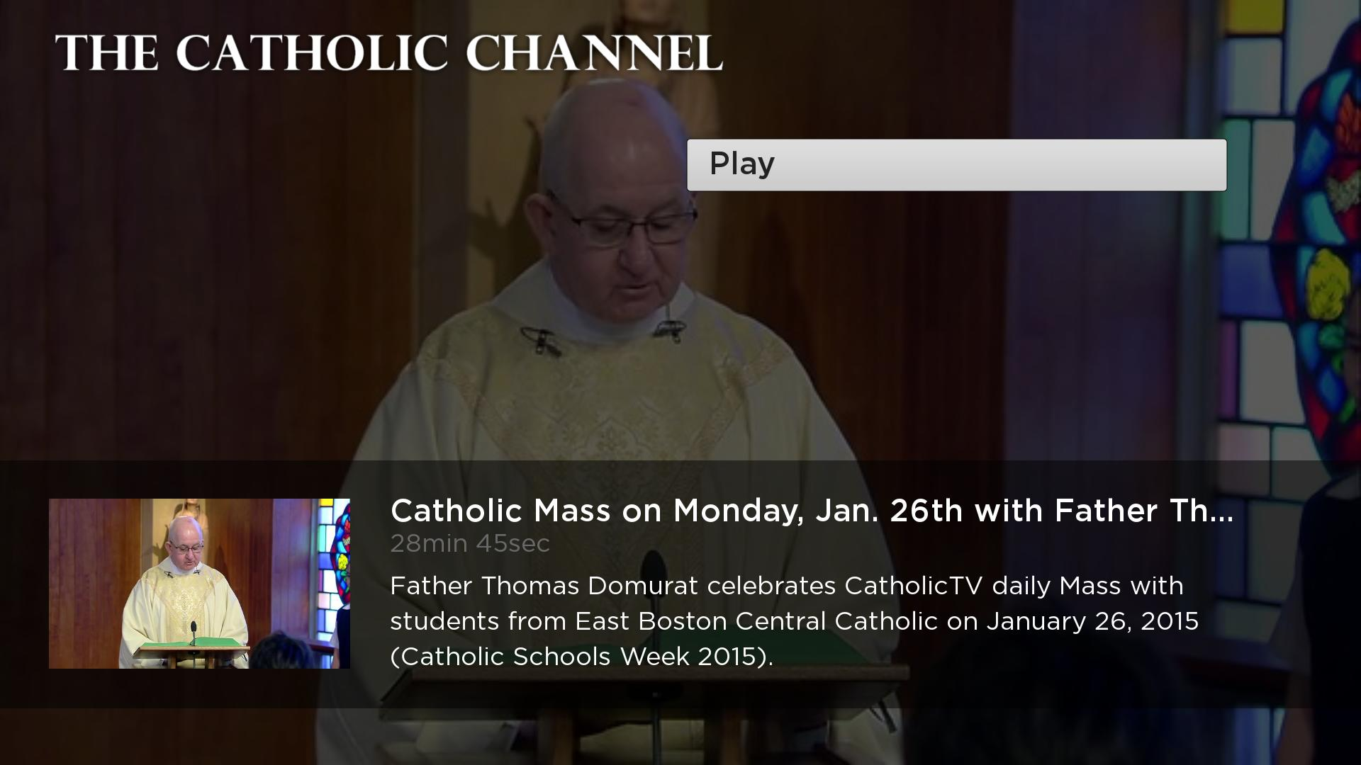 The Catholic Channel Screenshot 003