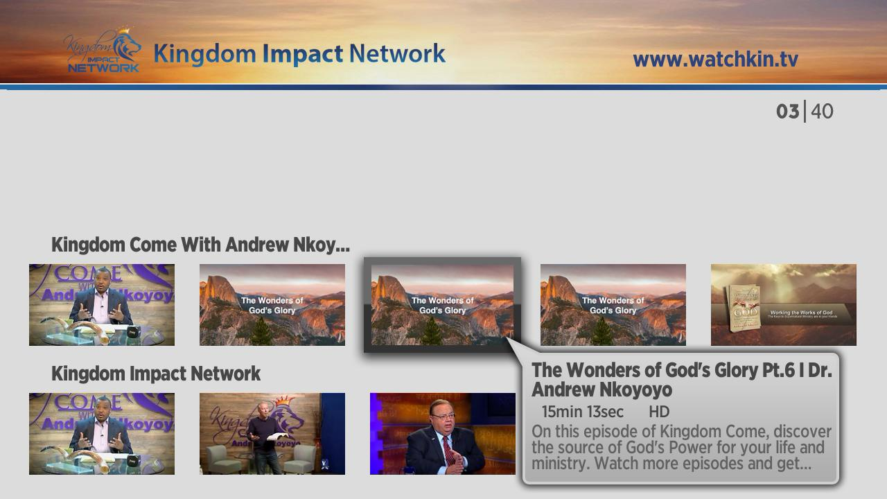 Kingdom Impact Network Screenshot 001