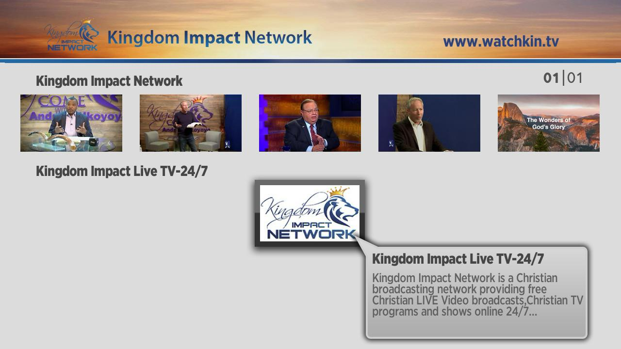 Kingdom Impact Network Screenshot 002