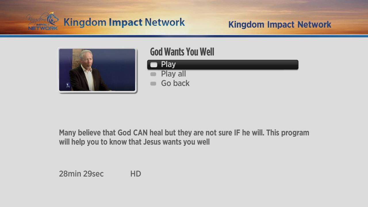 Kingdom Impact Network Screenshot 003
