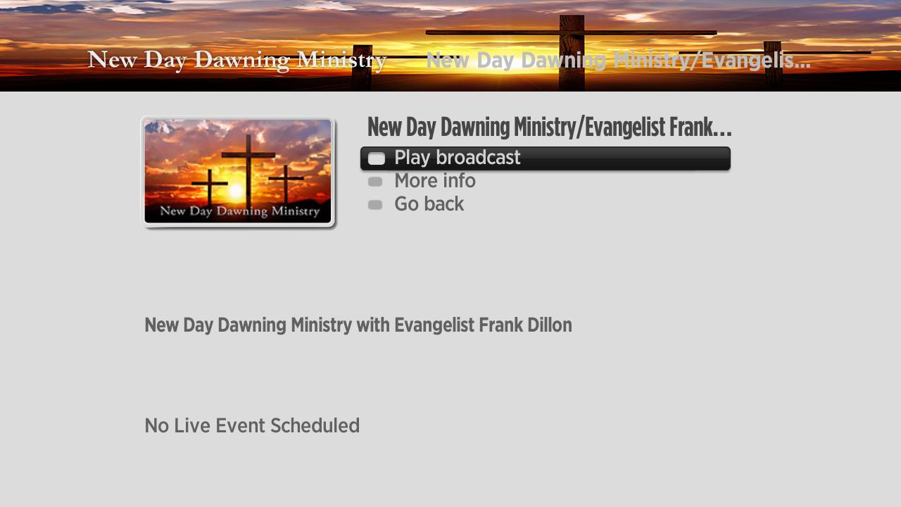 New Day Dawning Ministry Screenshot 002