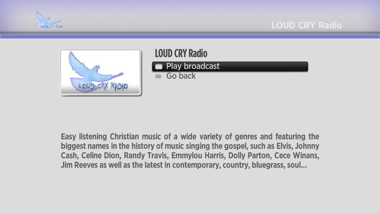 Loud Cry Christian Radio Screenshot 002