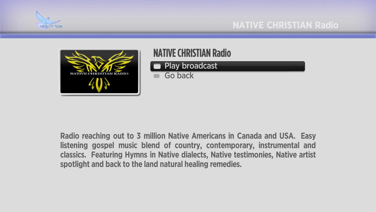 Loud Cry Christian Radio Screenshot 003