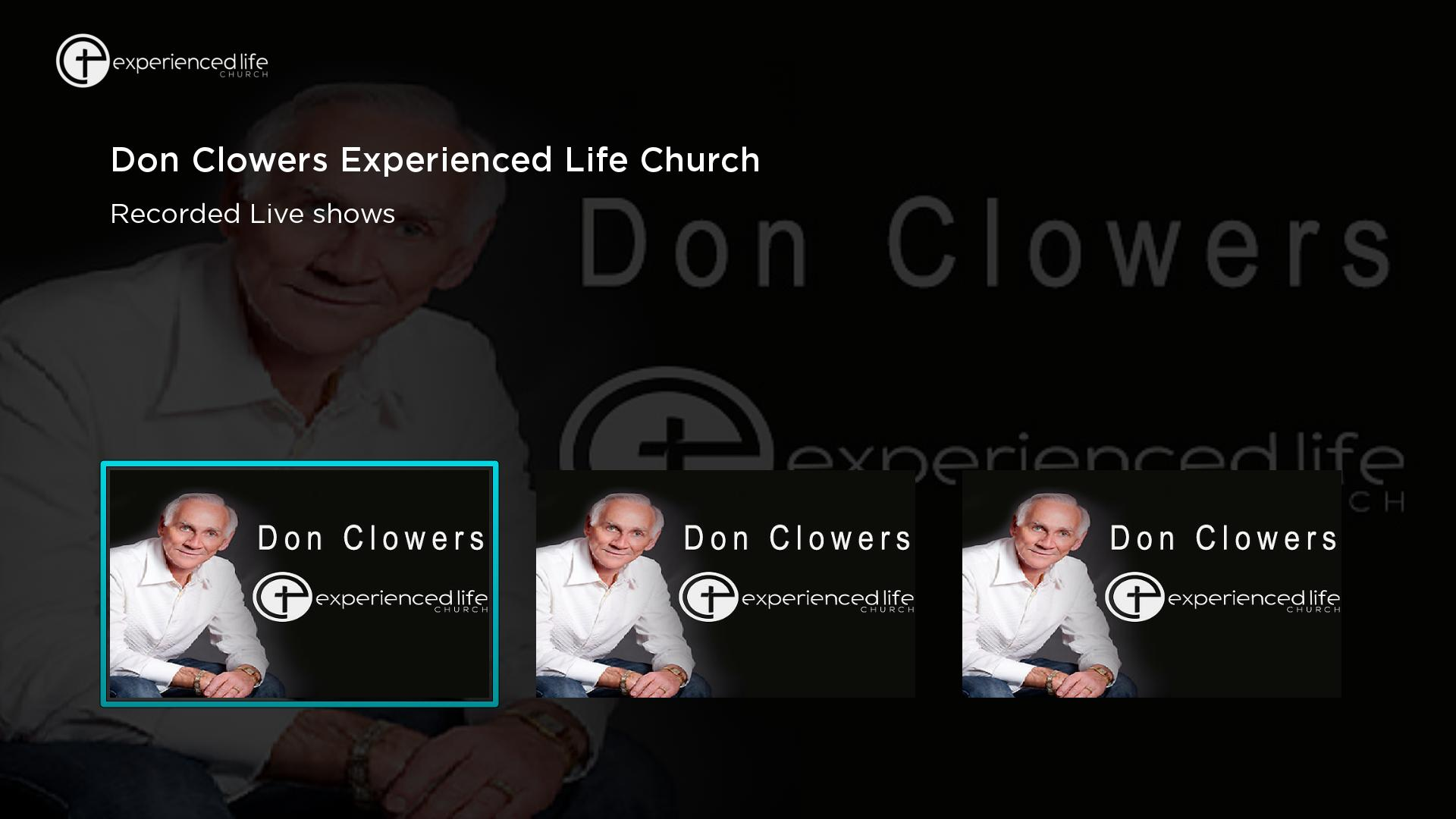 Today with Don Clowers Screenshot 001