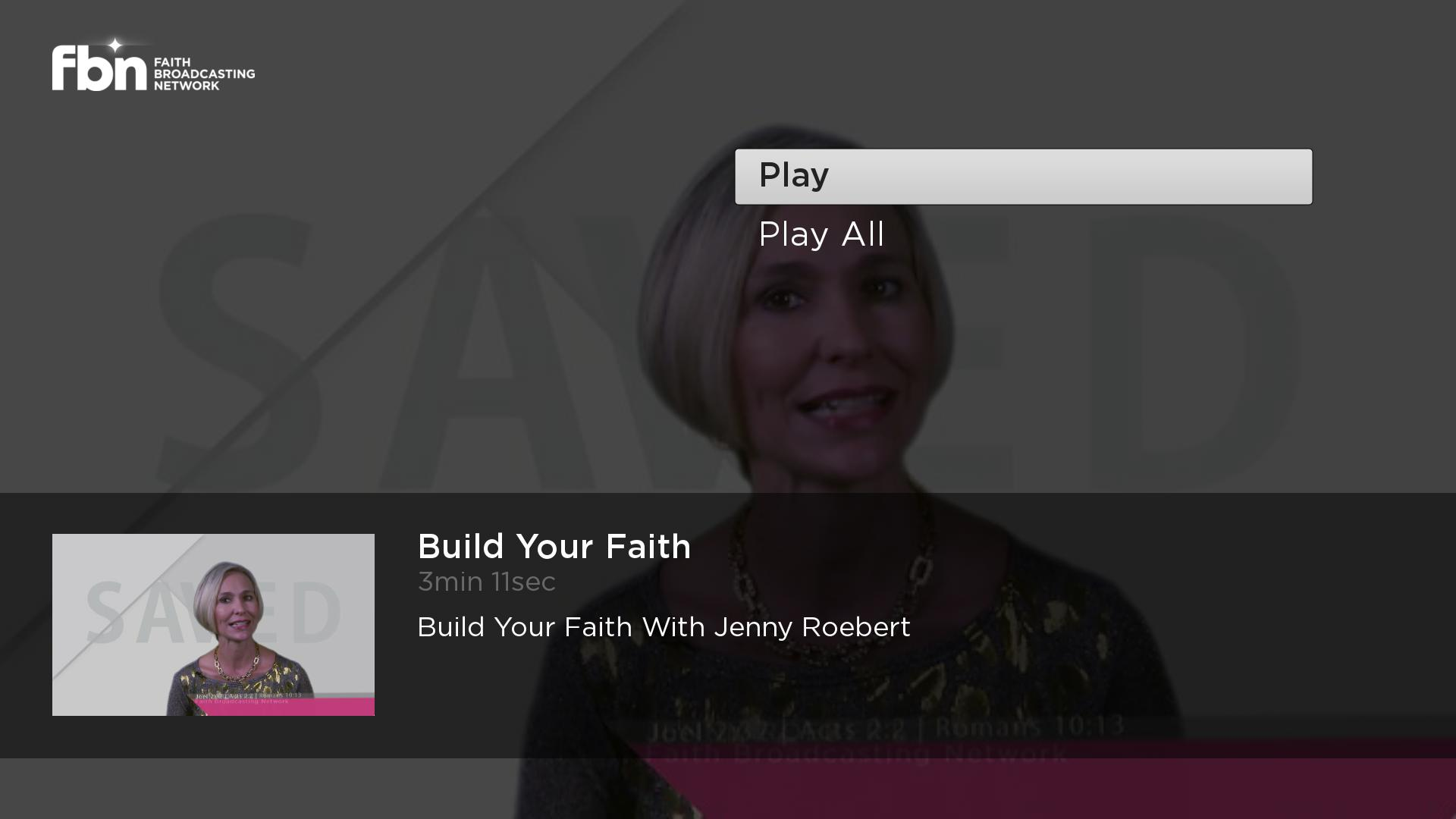 Faith Broadcasting Network Screenshot 003